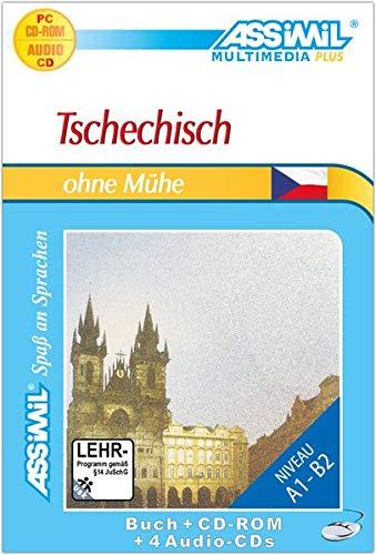 Tschechisch ohne Mühe. Multimedia-PLUS. Lehrbuch + 4 Audio CDs + CD-ROM