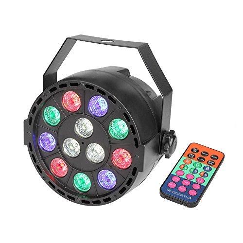 TSSS DMX Par Light met afstandsbediening mengkleur LED RGBW geluid activeren disco verlichting voor feestshots KTV DJ bruiloft