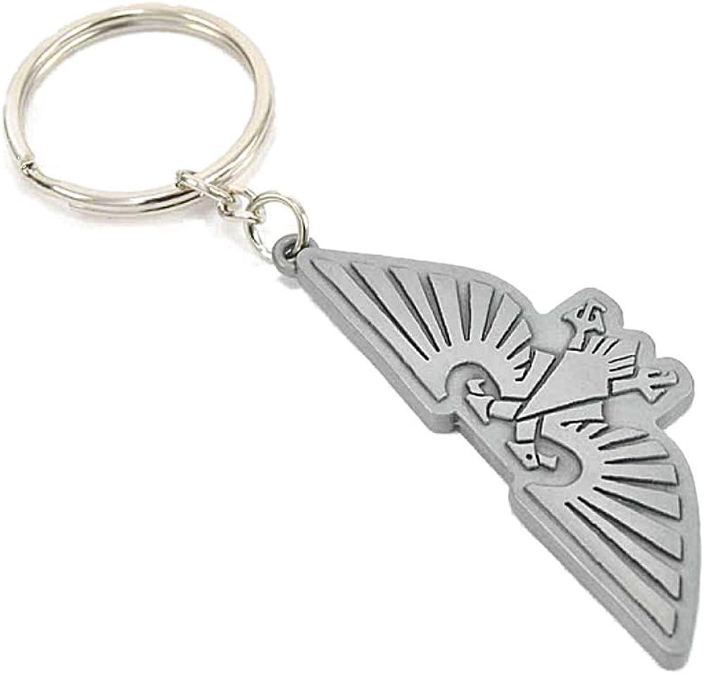 Genuine Warhammer 40,000 Aquila Symbol Metal Keyring Key Fob