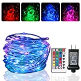 YESTORY 66Ft 200 LEDs Color Changing Outdoor Rope Lights,Multicolor