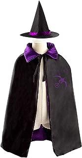 Hunter Nightstalker Kids Witch Cloak Robe Cape Hat Ghost Festival Costumes