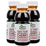 Cherry Bay Orchards Tart Cherry Concentrate - (3 pack - 8 oz Bottles) All Natural Juice to Promote...