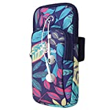WATACHE Sports Arm Bag, Universal Unisex Armbands Exercise Workout Running Gym Armbands Phone Holder Pouch Case with Earphone Hole for iPhone, Samsung Galaxy and LG,#2Blue