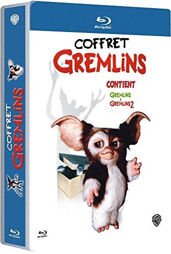 Gremlins + Gremlins 2 coffret Blu-Ray