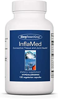 Allergy Research Group - InflaMed - Joint Support, Athletes - Curcumin, Ginger, MSM - 120 Vegetarian Capsules