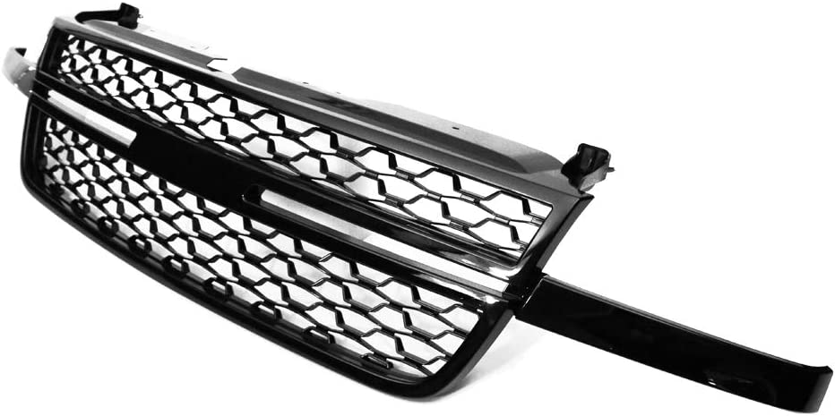 IKON MOTORSPORTS Grille Compatible Sil With San Bombing free shipping Antonio Mall Chevrolet 2005-2007