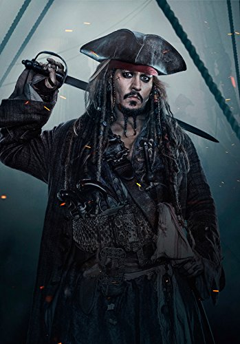 Import Posters Pirates of The Caribbean : SALAZAR'S Revenge – Jack Sparrow – US Textless Movie Wall Poster Print - 30CM X 43CM Dead Men Tell No Tales