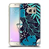 Head Case Designs Officially Licensed by Haroulita Overlays Leaves 2 Soft Gel Case Compatible with Samsung Galaxy S7 Edge