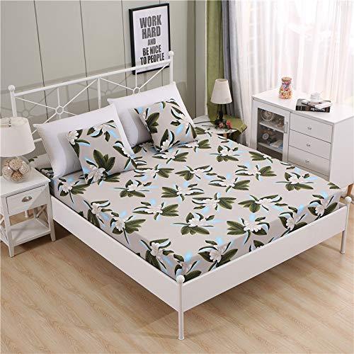 Gebruikt voor Thickening schuren melk zijde all-inclusive bed cover mat matrasbescherming cover student bed stofdicht