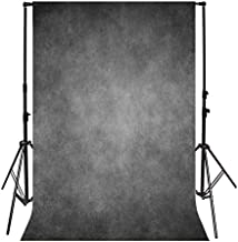 Leyiyi 3x5ft Photography Background Vintage Grunge Concrete Wall Backdrop Happy Birthday Heavy Metal Wallpaper Cool Color Rock Music Banquet Closeup Baby Shower Photo Portrait Vinyl Studio Video Prop