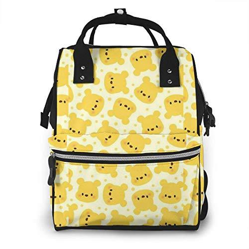 Sac à Langer Sac à Dos - bébé Winnie l'ourson Multifonction étanche Voyage Sac à Dos maternité bébé Nappe Sacs à Langer