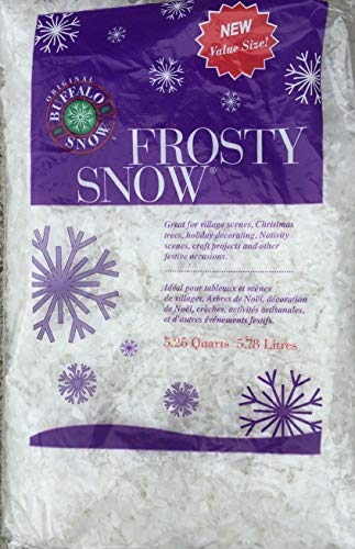 (1) Original Buffalo Snow Frosty Snow 5ls bag