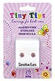 STUDEX Tiny Tips Stud Earrings Tiffany...
