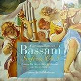 Giovanni Battista Bassani : Sonates pour Deux Ou Trois Instruments et Basse Continue