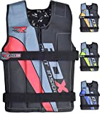 Rdx Gym Weighted Weight Vest Fitness Weighted Vest Training Vest Weight, Red, 18Kg