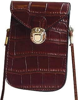 COAFIT Women's Phone Bag Vintage Mini Crossbody Bag Card Wallet
