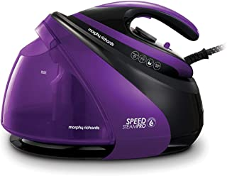 Morphy Richards 332100 Steam Generator Iron Easy Clean, De-Scale, Ceramic Soleplate, Lilac