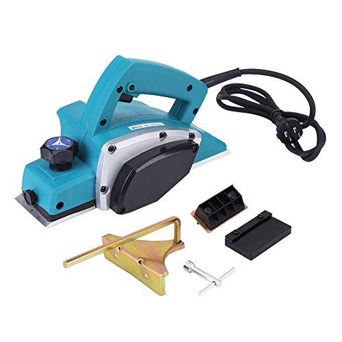 Samfox Herramienta de cepilladora eléctrica portátil Herramienta de mano para trabajar la madera eléctrica 220V