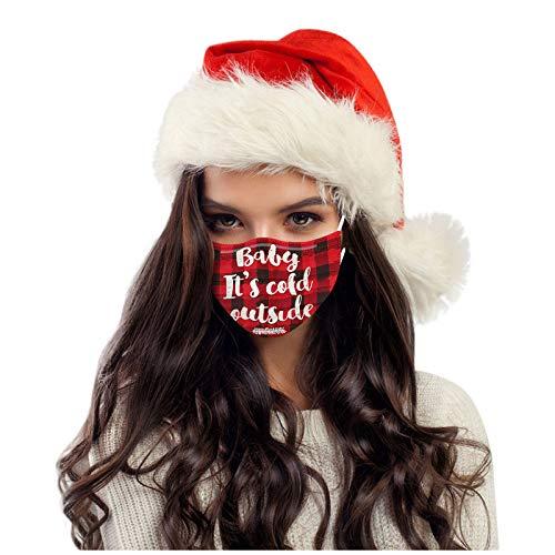 SicongHT 10/20 Stück Mundschutz Lustig Erwachsene Weihnachten Einweg Mund...