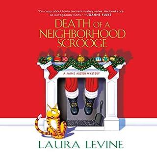 Death of a Neighborhood Scrooge audiobook cover art