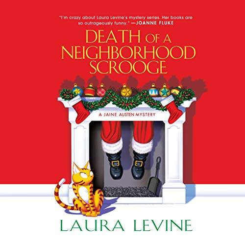 Death of a Neighborhood Scrooge audiobook cover art