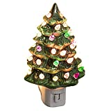 Decorative Ceramic Christmas Tree Night Light
