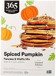365 by Whole Foods Market, Mix Pancake & Waffle Pumpkin Spice, 20 Ounce