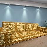 Spirit Home Interiors Bodensessel | Boden Sitz Sofa | Boden Couch | Ecksofa | Eckcouch | Schlafsofa | Orientalische sitzecke