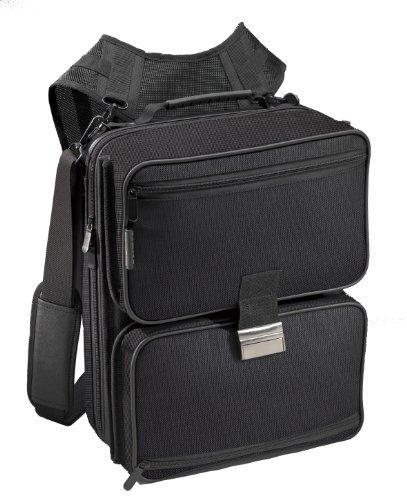 Pataco MO-2 Mobil office black Notebookrucksack 39,1 cm (15,4 Zoll) schwarz