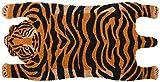 Esschert Design RB200 Tiger - Felpudo de Coco, Color Naranja y Negro