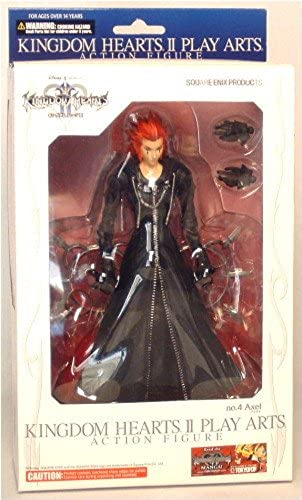 Kingdom Hearts 2 Play Arts Axel 18cm Figur
