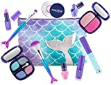 Make it Up Mermaid Collection - Washable - Non Toxic - Safe Makeup Set for Children
