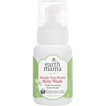 Earth Mama Simply Non-Scents Foaming Hand Soap | Pure Castile Germ-Fighting Body Wash, 5.3-Fluid Ounce