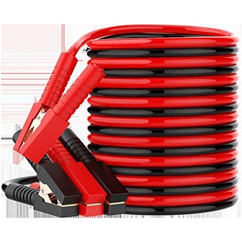 Cavi di avviamento Heavy Duty 600AMP 10ft 3 metri di rame a mascelle con Carry Bag cavo di guanti di sicurezza Jumper Auto cavi di avviamento FUNIVIA (Size : 3m)
