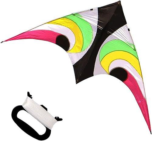 TYD.L Drachen J-068 Brise Leicht Zu Fliegen Langlebig Kind Erwachsener Dreieck Riesiger Drachen Verwendet Für Im Freien Park Strand Heimunterhaltung Geschenk 2,4  1,2M (Größe   Line length100M)