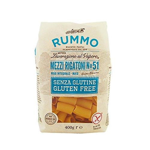 Rummo Mezzi Rigatoni Senza Glutine Gr. 400 [confezioni da 6]