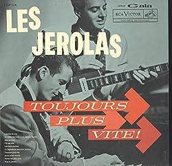 Les Jerolas: Toujours Plus Vite! LP VG+/VG++ Canada RCA CGP 116