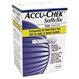 ACCU-CHEK Softclix Lancets, 100-Count Box (Pack of 2)