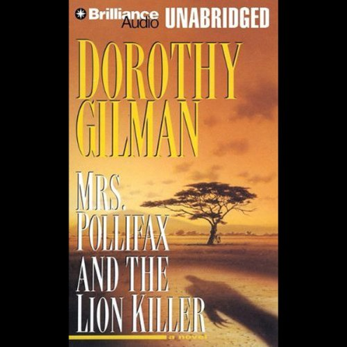 Mrs. Pollifax and the Lion Killer audiobook cover art