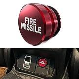 Cigarette Lighter Plug, Billet Aluminum Dustproof Plug Fire Missile...