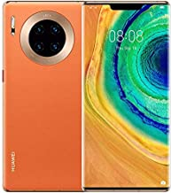 "Huawei Mate 30 Pro 5G Smartphone,Dual SIM, 256GB, 8GB RAM,40MP,4500mAh, 6.53"" Display  -  Vegan Leather Orange"
