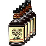 Mississippi - 5er Set Original Barbecue Sauce 'Sweet'n Spicy' 510 g (440ml) - American BBQ Sauce...