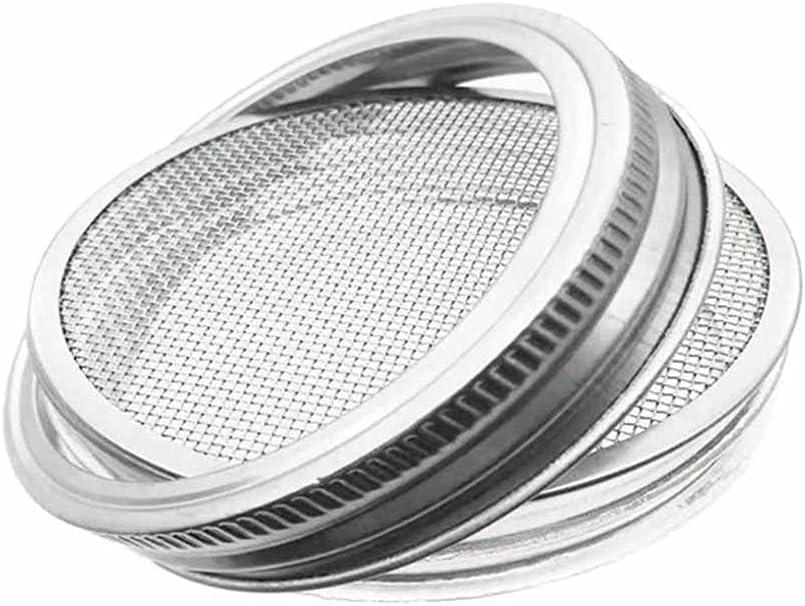 HAHFKJ Canning Lids Popular standard Regular Jar Stainless San Diego Mall Mouth Steel