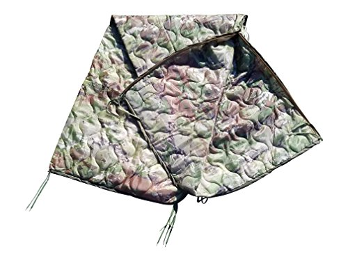 Ammo Can Man Multicam OCP Milspec Poncho Liner with Zipper Option (with Zipper)