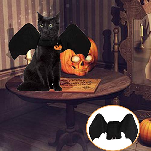 Pet Halloween Costumes - Halloween Dog Costume Bat Wingss -Cosplay for Cat Small Puppy Dogs-...