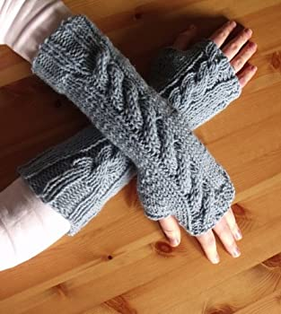 7 Fingerless Gloves Knitting Patterns   How To Knit Fingerless Gloves or Wrist Warmers  Easy One Day Project