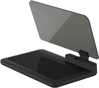 KKmoon Coche Head Up Display, GPS Navegador HUD con Panel de reflexión, Gran Pantalla HD Proyector de Compatible con Smart...