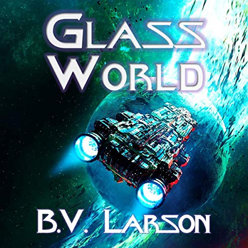 Glass World audiobook cover art
