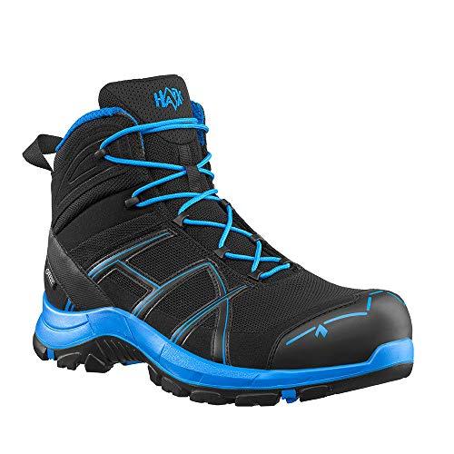 Haix Black Eagle Safety 40.1 mid/Black-Blue Leichte Sicherheitsschuhe. Modern und sicher. 43