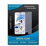 SWIDO Bildschirmschutz für Lenovo ZUK Z2 Pro [4 Stück] Kristall-Klar, Hoher Festigkeitgrad, Schutz vor Öl, Staub & Kratzer/Schutzfolie, Bildschirmschutzfolie, Panzerglas Folie